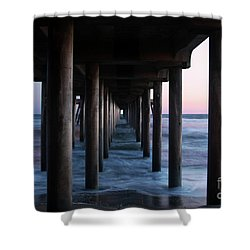 Road To Heaven Shower Curtain by Mariola Bitner