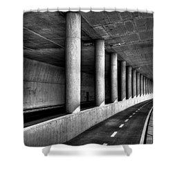 Road To Shower Curtain