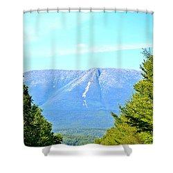 Road To Katahdin Shower Curtain by Tara Potts
