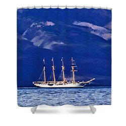 Shower Curtain featuring the photograph Road To Lahaina 34 by Dawn Eshelman