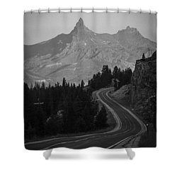 Road To Mordor Shower Curtain
