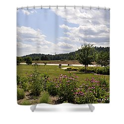 Shower Curtain featuring the photograph Road Trip 2012 #2 by Verana Stark