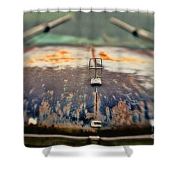 Roadside Relic Shower Curtain by Scott Pellegrin