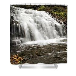 Roaring Falls Salt Springs Shower Curtain by Christina Rollo