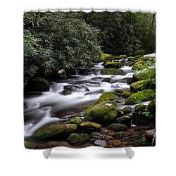 Roaring Fork Shower Curtain by Frozen in Time Fine Art Photography