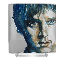 Rob Thomas  Matchbox Twenty Shower Curtain by Chrisann Ellis