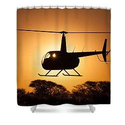 Robbie Sun Shower Curtain