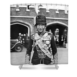 Robert Baden-powell Shower Curtain by Underwood Archives