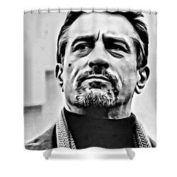 Robert De Niro Portrait Shower Curtain