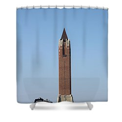 Robert Moses Tower At Jones Beach Shower Curtain
