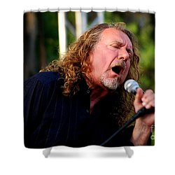 Robert Plant 2 Shower Curtain by Angela Murray