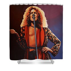 Robert Plant 2 Shower Curtain by Paul Meijering