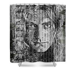 Robert Plant - Led Zeppelin Shower Curtain