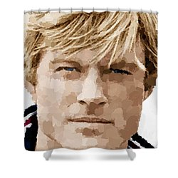 Robert Redford Shower Curtain