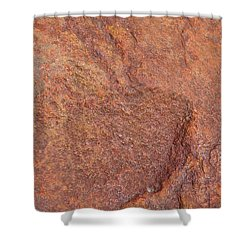 Rock Abstract #3 Shower Curtain