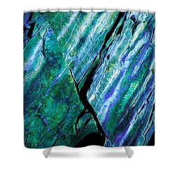 Rock Art 15 Shower Curtain