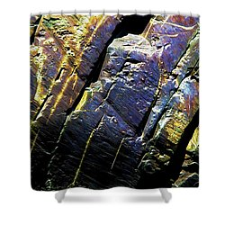 Rock Art 9 Shower Curtain
