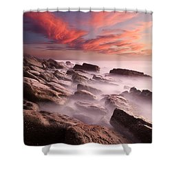 Rock Caos Shower Curtain
