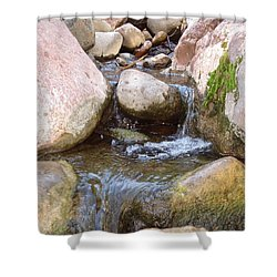 Shower Curtain featuring the photograph Rock Creek by Kerri Mortenson