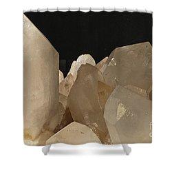 Rock Crystals Shower Curtain by Heiko Koehrer-Wagner