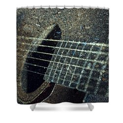 Rock Guitar Shower Curtain