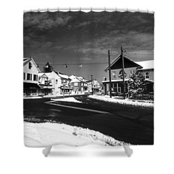 Rock Hall Maryland Shower Curtain by Skip Willits