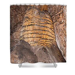 Rock Of Ages Carlsbad Caverns National Park Shower Curtain