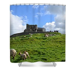 Rock Of Cashel In The Distance Shower Curtain