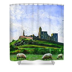 Rock Of Cashel Ireland Shower Curtain