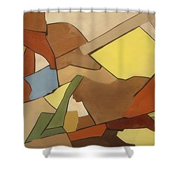 Rock Of Mages Shower Curtain