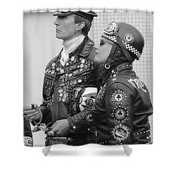 Rockers 2 Shower Curtain