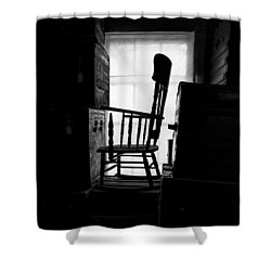 Rocking Chair Shower Curtain by Bob Orsillo