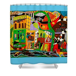 Rockland Shower Curtain