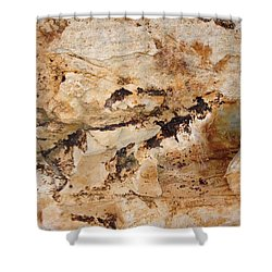Rockscape 3 Shower Curtain