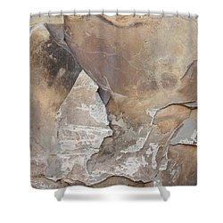 Shower Curtain featuring the photograph Rocky Edges by Jason Williamson