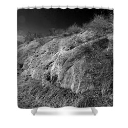 Rocky Face And Sky Shower Curtain