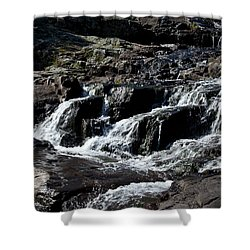 Rocky Falls Shower Curtain