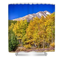 Rocky Mountain Autumn Bonanza Shower Curtain by James BO  Insogna