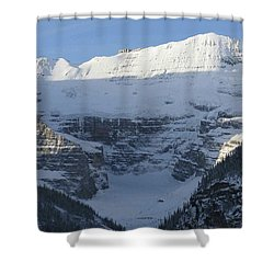 Rocky Mountain Blue Shower Curtain