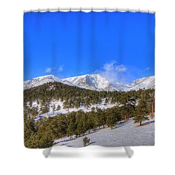 Rocky Mountain National Park 4388 Shower Curtain