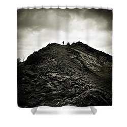 Rocky Pathway To Scotland Shower Curtain