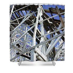Roller Coaster Shower Curtain
