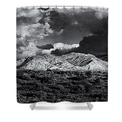 Rollin' Through 57 Shower Curtain by Mark Myhaver