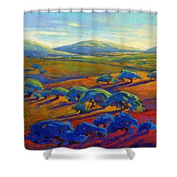 Rolling Hills 2 Shower Curtain