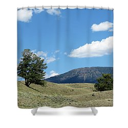 Rolling Hills Shower Curtain by Laurel Powell