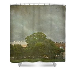 Rolling Over Charleston Shower Curtain