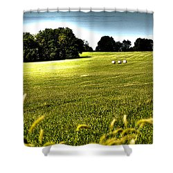 Rolling Pastures Shower Curtain