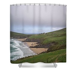 Rolling Waves - Rolling Hills Shower Curtain