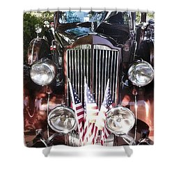 Rolls Royce Car  Shower Curtain by Susan Garren