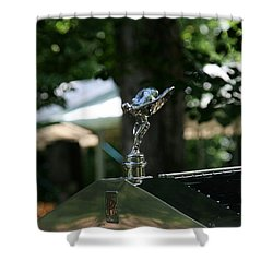 Shower Curtain featuring the photograph Rolls Royce by Leena Pekkalainen